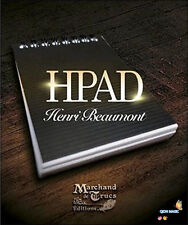 HPad by Henri Beaumont (DVD and Gimmick) - Magic Trick,Mentalism Mgaic,Card Magi
