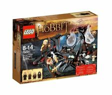 Lego The Hobbit 79001 ESCAPE FROM MIRKWOOD SPIDERS Legolas Dwarves Minifigs NISB