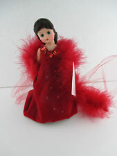 "VINTAGE MADAME ALEXANDER ""SCARLETT RED DRESS""  DOLL 161106 SCARLETT SERIES"