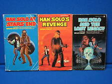 Brian Daley Book Lot Old Vintage Star Wars Han Solo and the Lost Legacy Revenge