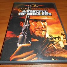 A Fistful of Dollars (DVD, 1999, Western Legends) Clint Eastwood Used