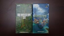 Super famicom SFC Seiken Densetsu Secret of Mana 2 3 boxed Japan games US Seller