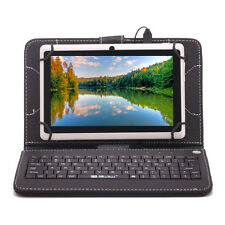"""Hotest iRULU 7"""" Quad Core Android 4.4 KItkat Dual Cams 16GB Tablet PC+Keyboard"""
