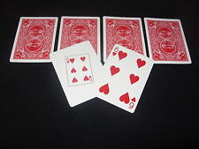 6 OF HEARTS PLAYING CARD PREDICTION CLOSE UP MAGIC TRICK NEW GAFF SEE MY VIDEO