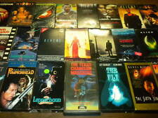 26 HORROR SCI-FI OOP/RARE VINTAGE VHS MOVIES lot R RATED HACKERS CLASSICS more!
