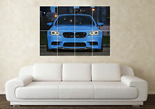 Large BMW M5 M3 M6 5 Series Supercar Sports Car Wall Poster Art Picture Print