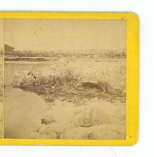 Wsa9144 Masterson 1875 Ice Views in the Delaware River Port Jervis New York D