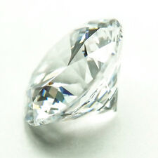 BEST CUT 1CT (6.5mm) Brilliant Round Shape My Russian Diamond Lab Created Stone