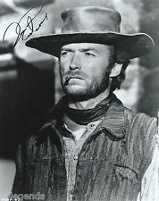 "Clint Eastwood  Autographed 8""x10""  Photo Copy ""Two Mules For Sister Sarah"" X-08"