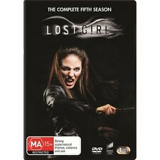 LOST GIRL.-Season 5-Region 4-New AND Sealed- 4 DVD Set-TV Series