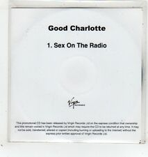 (GD167) Good Charlotte, Sex On The Radio - 2011 DJ CD