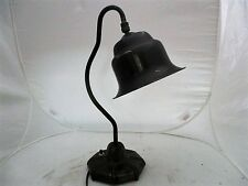 Vintage Art Deco Industrial style Articulating Bell Shaped Shade Table Lamp