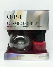 OPI Nail Lacquer -Holiday 2015 COSMIC COUPLE HR G25 (NLL72 .5oz+ Mini HRG43)