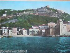 Vecchia Cartolina SANTA MARIA DI CASTELLABATE Borgo Marinaro Salerno Foto 1965