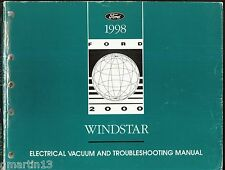 1998 Ford Windstar Electrical & Vacuum Troubleshooting
