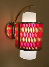 Vintage Lighting extraordinary 1960s honeycomb sconce by Moe