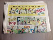 OCTOBER 9 1960 MILWAUKEE JOURNAL Sunday Newspaper Comic Section