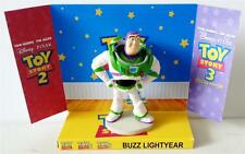 Disney Pixar TOY STORY Action Figure BUZZ LIGHTYEAR on Custom Display Stand