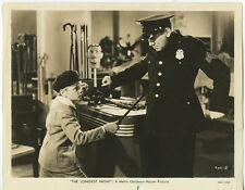 PHOTO REPRINT 2 ACTORS, TED HEALY, IN THE LONGEST NIGHT FILM/MOVIE 8x10