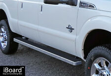 "4"" iBoard Running Boards Fit 99-16 Ford F-250/F-350/F-450 SuperDuty Crew Cab"