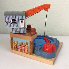Thomas & Friends Brendam Bay Fishery Wooden Train Toy