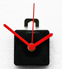 UTS (German) Quartz Clock Movements with short stem. inc short Red hands
