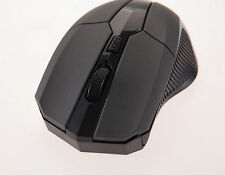 DIUS 2.4 GHz Wireless Optical Mouse Mice + USB 2.0 Receiver for PC Laptop Black
