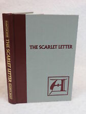 Nathaniel Hawthorne  THE SCARLET LETTER  Reader's Digest  c. 1984 HC Illustated