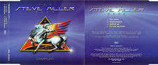 "STEVE MILLER BAND ""SAMPLER"" RARE PROMOTIONAL CD MAXI / FROM ""YOUNG HEARTS"" ALBUM"