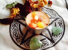 MONEY & ABUNDANCE Spell kit ~FULL MOON SPELL CAST Candle ~ Wicca Magic~