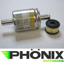 Autogas Filter-Set mit Valtek-Einsatz und Gasfilter 12mm-12mm KME LPG