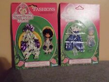 1984 Rose Petal Place Dotted Dancer & Painting Posies Fashions Kenner