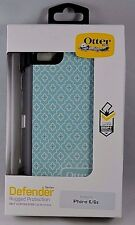 NEW!! OEM Otterbox Defender Series With Belt Clip for iPhone 6/6s - Moroccan Sky