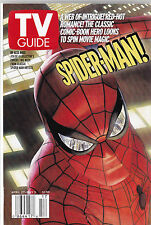 TV GUIDE APRIL 27 , 2002 VF/NM SPIDER-MAN