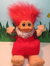 "CHRISTMAS MELODY w/OUT HANG TAG- 9"" Russ  Wee Troll Kidz - NEW STORE ST0CK -Rare"