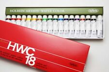 Holbein Artists Japan Transparent Watercolor 18 Colors Set 5ml W403 import z005