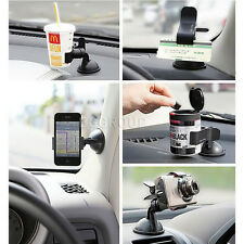 Universal Car Phone Holder Windshield Dashboard Mount Stand For Mobile Phone GPS