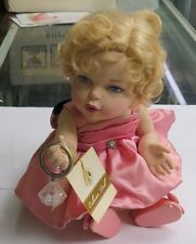 FRANKLIN MINT MARILYN MONROE PORCELAIN PORTRAIT BABY DOLL