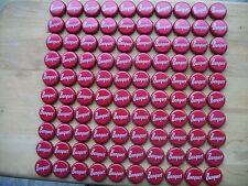 100 BANQUET BEER BOTTLE CAPS (CRAFTS)