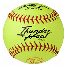 "Dudley Asa Thunder Heat Fast Pitch Softball 12"" 12 Ball Pack"