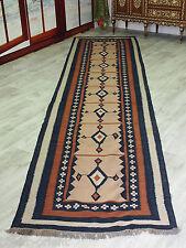 440x102 cm orient Teppich kaukasische Nomaden Sanne kelim Läufer kilim No:474