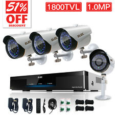 ELEC 8CH 960H DVR 1800TVL Outdoor CCTV Home Surveillance Security Camera System