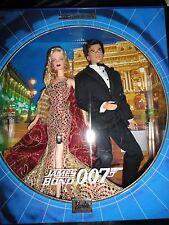 James Bond 007 Barbie Doll Giftset NRFB MIB