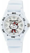 CITIZEN Japan Q&Q Hello Kitty Watch Water Resistant 10Bar VQ75-431 Ladies White