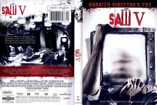 Saw V Unrated Directors Cut DVD Brand New