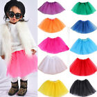 Baby Kids Girls Ballet Tutu Princess Skirts Dance Party Dress Pettiskirt Costume