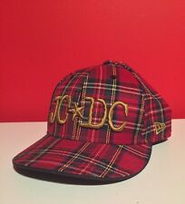 RARE - NEW ERA JC•DC Tartan Baseball Cap - 7 3/8