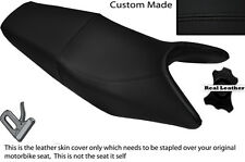 BLACK STITCHING CUSTOM FITS HONDA CBF 250 04-12 DUAL LEATHER SEAT COVER ONLY