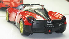 2013 PAGANI HUAYRA 6.0 V-12 TWIN TURBO RED  NEW IN BOX .