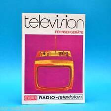 RFT television Fernsehgeräte 1977 | Werbezettel Debüt DDR Combi-Vision Luxomat C